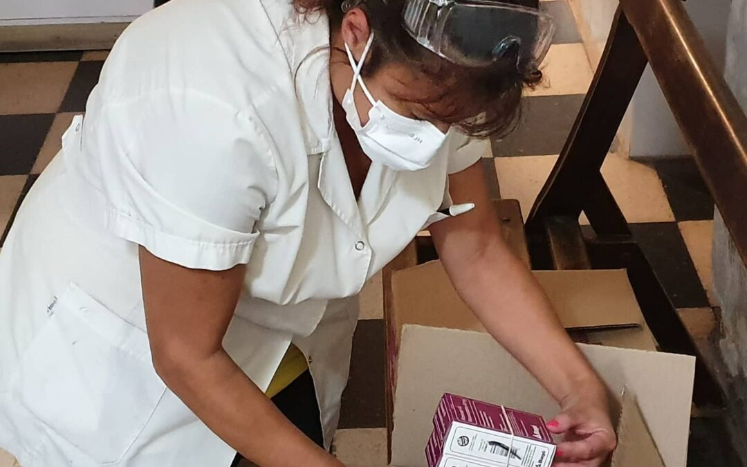 De la mano de Hilfe llegó al Hospital Dr. Arturo Illia de Villa Gesell una importante donación de medicamentos de Laboratorios Bagó