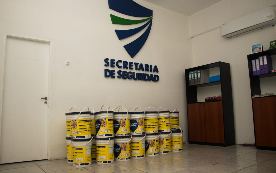Donación de Fundación Hilfe para la Secretaría de Seguridad de Villa Gesell