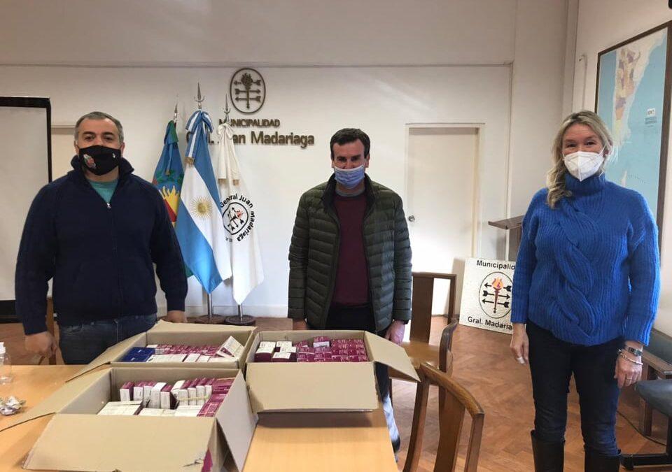 Fundación Hilfe entregó medicamentos de Laboratorios Bagó a los Hospitales de Madariaga, Villa Gesell y Pinamar